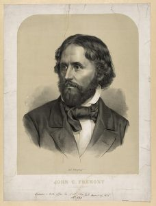 John C. Fremont, 1856. Lith. by Crehan after Saintin. (Library of Congress.)